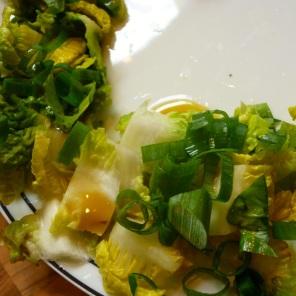 Da ist der Salat