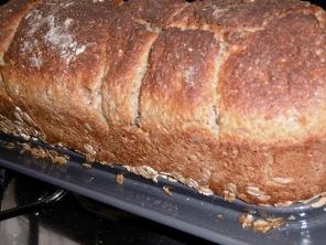 Toastbrot gebacken