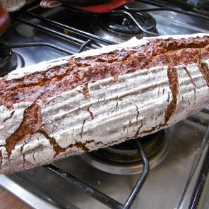 Sauerteig-Honig-Brot