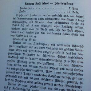 Sirupus Idaei-Himbeersirup DAB 6