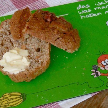 Haselnuss-Broetchen, das ist was man haben muß!