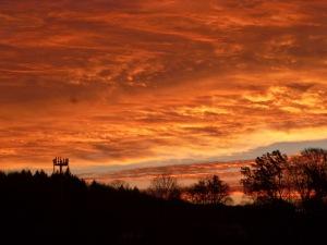 Orange Coloured Sky