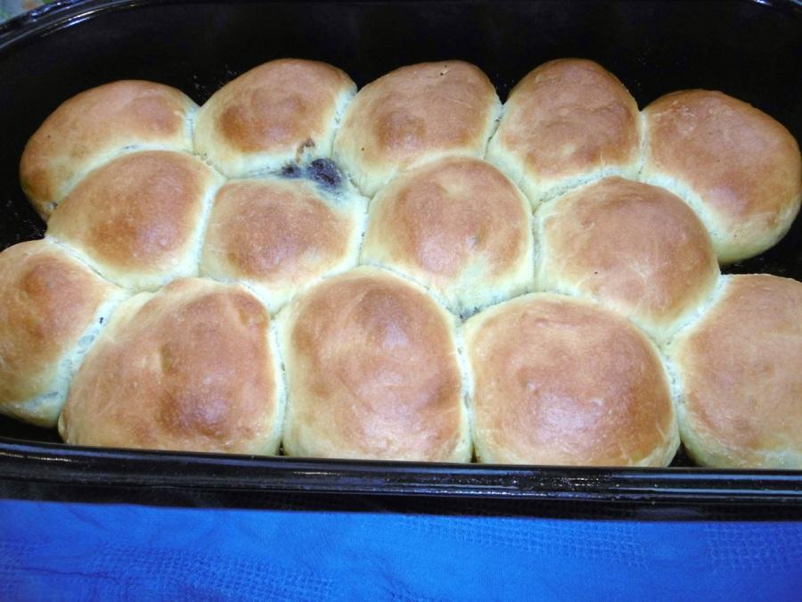 Buchteln-gebacken