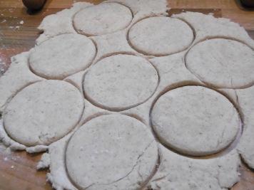 Biscuits-ausgestochen