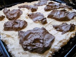 Klekse auf dem Kuchen