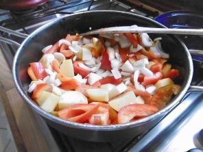 2.Schritt-Paprika-Zwiebeln