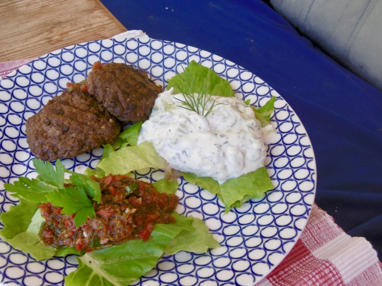 Türkische Sommerküche : Sommerküche cacik u anna antonia