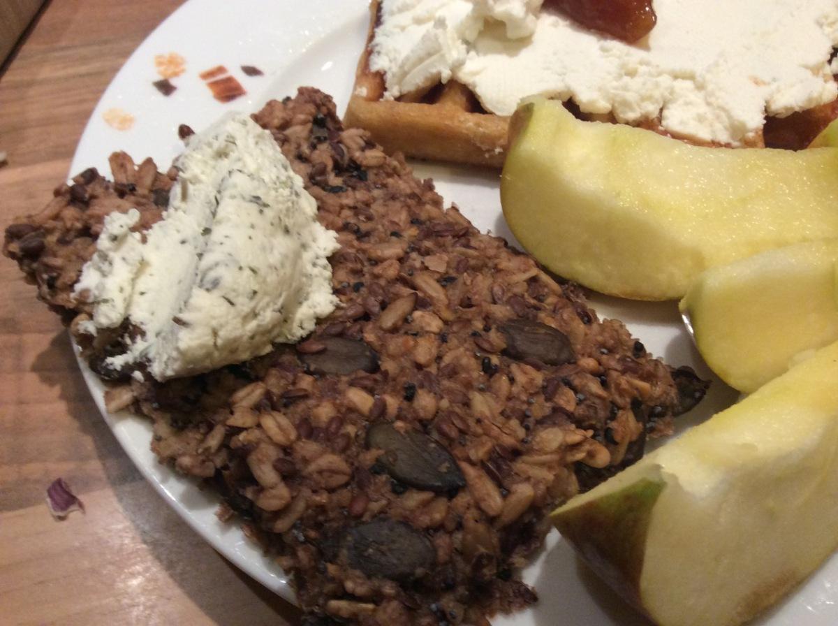 Superfrühstück: Hamster-Knäcke