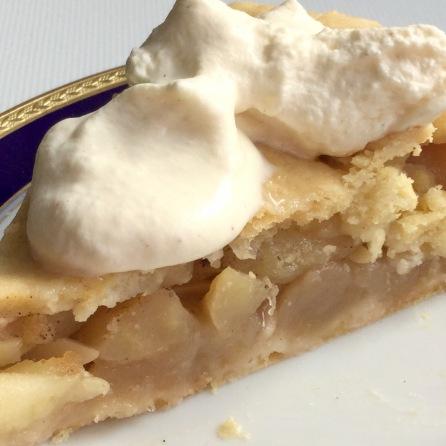 Apple-Pie mit Sahne