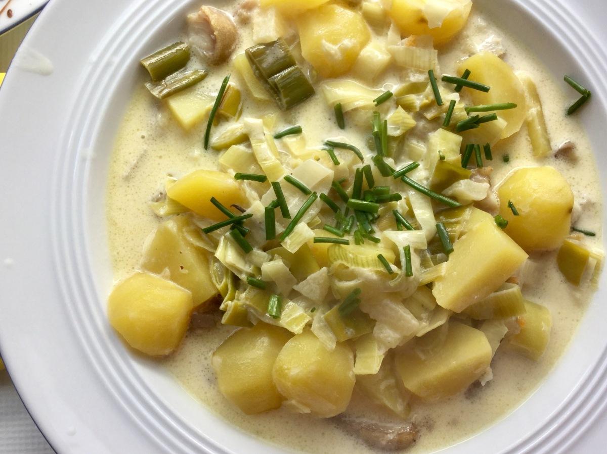 #Foodblogbilanz 2017 und eine Mitternachts-Suppe