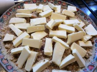 Abschluß mit Butter