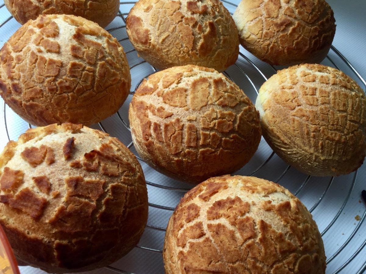 Brötchen mit Dutch Crunch- für Zora!