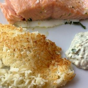 Fisch-Sauce-Reis