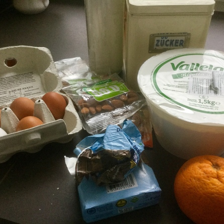 Ricotta-Orangen-Kuchen- Zutaten